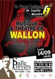 """Théâtre en Wallon par la Cie """"Quèle Trope"""""""