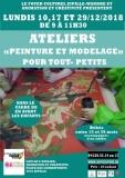 3 ateliers «Peinture et modelage» pour tout- petits