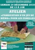 COMPLET - atelier «Fabrication d'un jeu de mémo» pour les familles