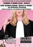 SOUS LA ROBE - One Woman Show de Nathalie Penning