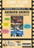 ciné club pour tout petits + atelier parent/enfant  « animaux animés »