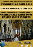 CYCLE « CIRCUIT DES COLLEGIALES »  COLLEGIALE SAINT JACQUES - CATHEDRALE SAINT PAUL