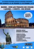 COMPLET - ROME - SUR LES TRACES DE CESAR  4 JOURS – 3 NUITS – EN AVION