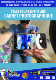 Carnet photographique - stage